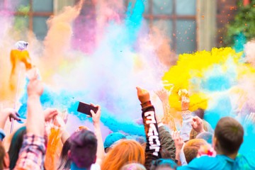 Holi Festival - festiwal kolorów