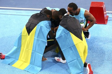 Athletics - Men's 4 x 400m Relay Final