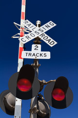 Railroad Crossing Signal Lights