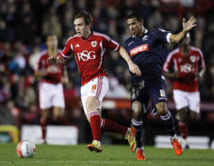 Bristol City v Millwall npower Football League Championship
