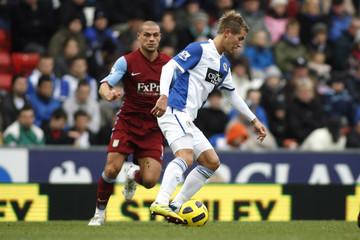 Blackburn Rovers v Aston Villa Barclays Premier League
