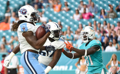 NFL: Preaseason-Tennessee Titans at Miami Dolphins