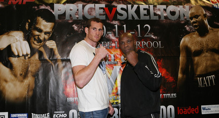 David Price & Matt Skelton Head-to-Head Press Conference