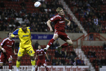 Swindon Town v AFC Wimbledon Johnstone's Paint Trophy Southern Area Quarter Final