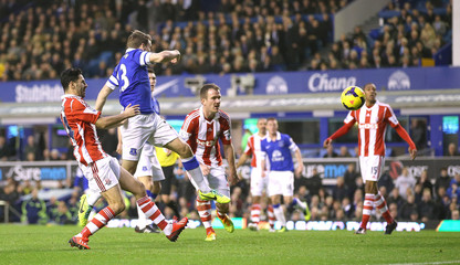 Everton v Stoke City - Barclays Premier League