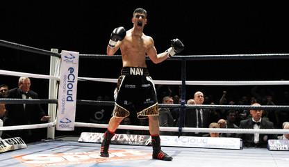 Nav Mansouri v Matthew Mallin English Light Middleweight Title