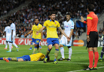 Olympique Marseille v Arsenal - UEFA Champions League Group Stage Matchday One Group F
