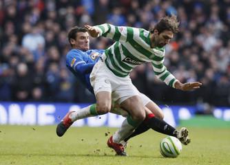 Celtic v Rangers Clydesdale Bank Scottish Premier League