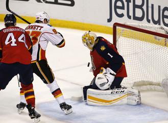 NHL: Calgary Flames at Florida Panthers