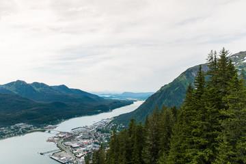 Overlooking Juneau
