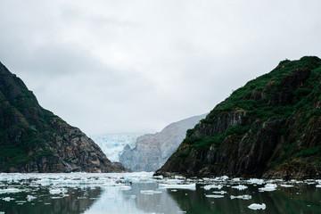 North Sawyer Glacier Peeking Through