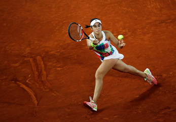 Tennis - Madrid Open - Dominika Cibulkova of Slovakia v Louisa Chirico of the United States