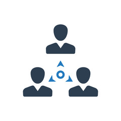 Business Team Connection Icon