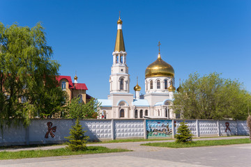 Volzhsky. Volgograd region. Russia 6 May 2017. The building of the church of St. John the Evangelist