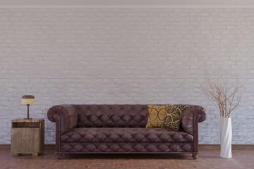 Clean interior # 3D Render