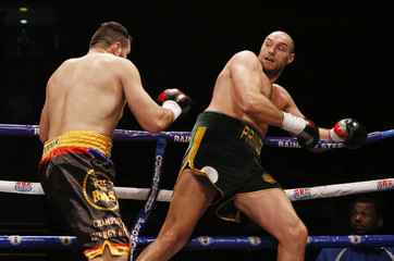 Tyson Fury v Christian Hammer WBO International Heavyweight Title