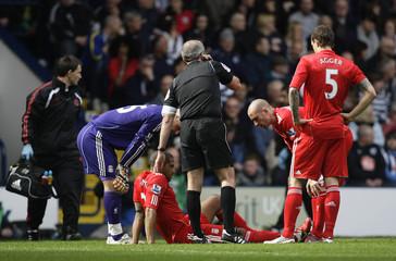 West Bromwich Albion v Liverpool Barclays Premier League