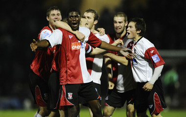 Woking v Brighton & Hove Albion FA Cup First Round Replay