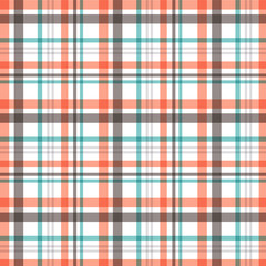 Seamless plaid background