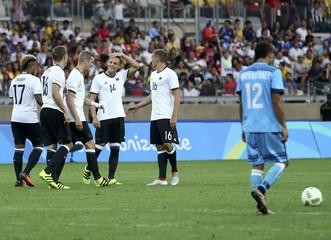 Football - Men's First Round - Group C Germany v Fiji