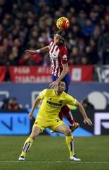 Atletico Madrid v Villarreal - Spanish Liga BBVA