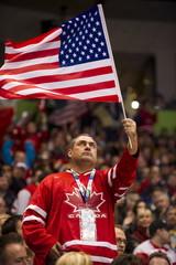 Men's Hockey  Play-offs Quarterfinals USA vs Switzerland - Vancouver 2010