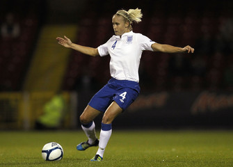England v Slovenia 2013 UEFA Women's European Championship Qualifying Group Six