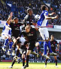 Blackburn Rovers v Everton Barclays Premier League