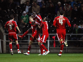 Swansea City v Bristol City npower Football League Championship