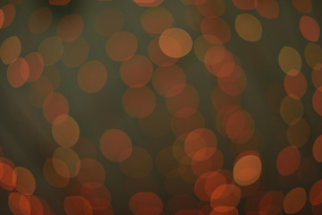 Beautiful background of red bokeh in the night