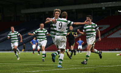 Celtic v Rangers Scottish FA Youth Cup Final