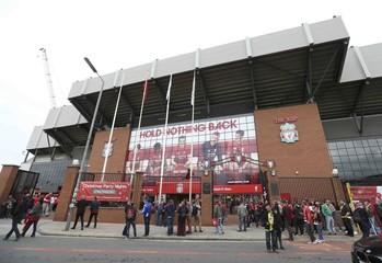 File photo of Anfield Soccer stadium