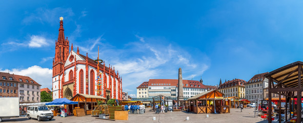 Würzburg, Marktplatz  Wall mural