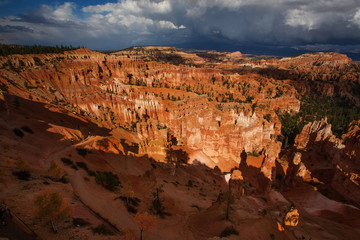 Deurstickers Canyon Landscape of Bryce canyon National Park, Utah, USA