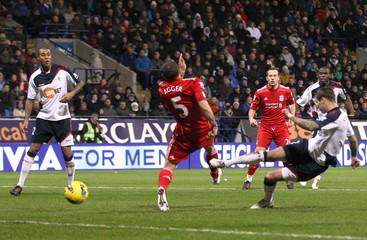 Bolton Wanderers v Liverpool Barclays Premier League
