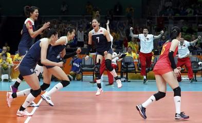 2016 Rio Olympics - Volleyball Women's Quarterfinals