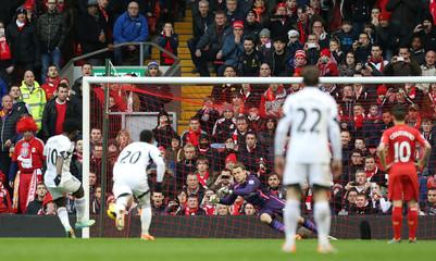 Liverpool v Swansea City - Barclays Premier League
