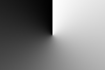 Black and White abstract background with space for text or image