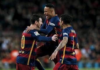 Football Soccer - Barcelona v Celta Vigo - Spanish Liga BBVA - Camp Nou stadium, Barcelona