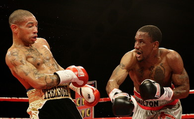 Ashley Theophane v Darren Hamilton British Light-Welterweight Title