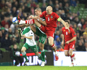 Republic of Ireland v Wales Carling Nations Cup