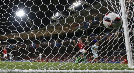Belgium's Carrasco scores their fourth goal