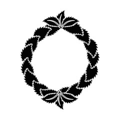 Ecology stamp emblem icon vector illustration graphic design