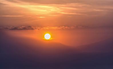 Sunrise Closeup
