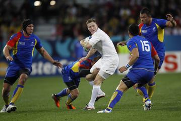 England v Romania IRB Rugby World Cup 2011 Pool B
