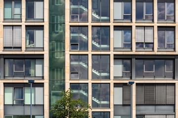 Fassade Gebäude Fenster