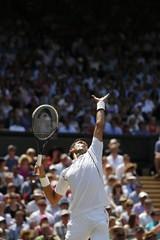 Men's Singles - Serbia's Novak Djokovic in action during the final
