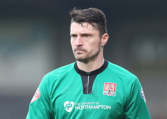 Scunthorpe United v Northampton Town - Sky Bet Football League Two