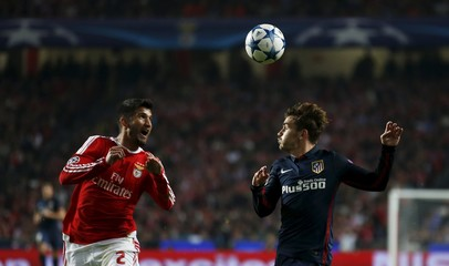 Football Soccer - Benfica v Atletico Madrid - Champions League Group Stage - Group C