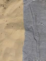 Beach texture (Pesaro, Italy)